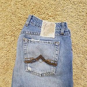 Women's Luck Brand Old World Jeans light wash